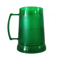 Caneca De Chopp Gel 300ml Verde