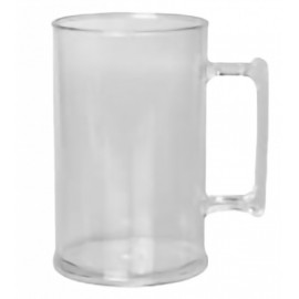 Caneca De Chopp 450ml Transparente