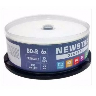 Bluray Newstar Printable C/25un