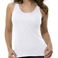 Camiseta Regata Feminina M Poliester C/ Elastano