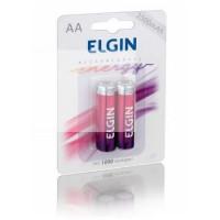 Bateria Recarregavel Elgin AA 2500 C/ 2 Un