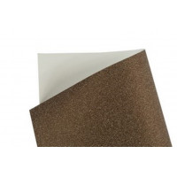 Papel Gliter Marrom 140g A4 5 Folhas