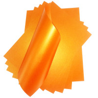 Papel Relux Hermes (Laranja)180G A4 C/ 9 Fl