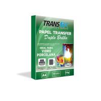 Papel Transfer Duplo Brilho A4 115g c/ 100