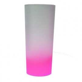 Copo Long Drink Degrade 340ml Pink