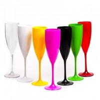 Taça Champagne Acrilica 180ml