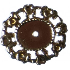 Tag Oval Para Chaton 13mmx10mm Com 10