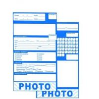 Envelope De Fotoacabamento Photo Azul C/ 500Un