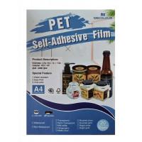 Vinil Pet Dourado Resistente a agua A4 C/20 (jato de tinta)