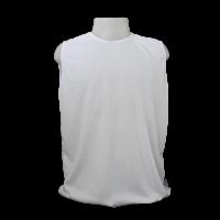 Camiseta Regata Masculina Dryfit Furadinha Branco M