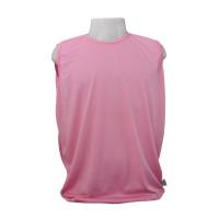 Camiseta Regata Masculina Dryfit Furadinha Rosa GG